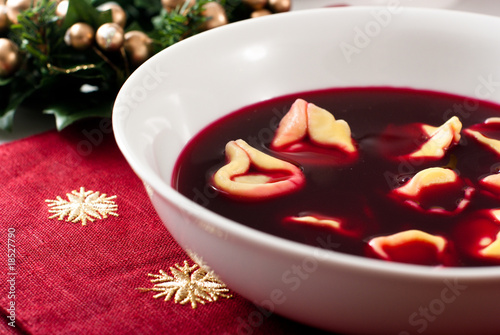 Traditional Polish Christmas Soup