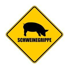 Achtung Schweinegrippe