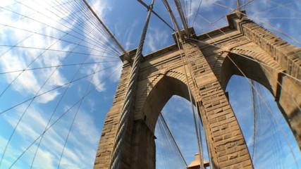 Brooklyn Bridge USA T-Lapse (with Fish-eye)