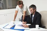 Entrepreneurs at work poster