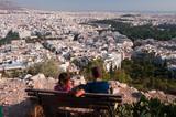view of Athens metropolis poster
