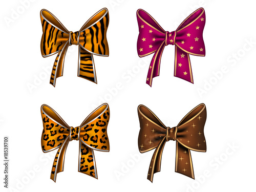Four fun bows