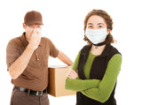 Delivering the Flu poster