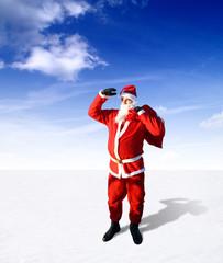 Schöne Grüsse vom Weihnachtsmann