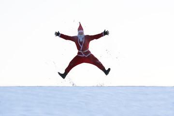 Lustiger Weihnachtsmann