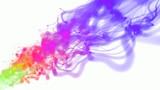color fluid 3d poster