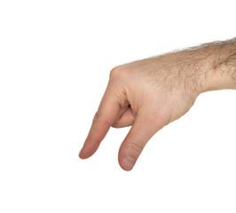 ASL Letter Q