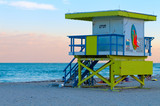Lifeguard Shelter in Miami poster