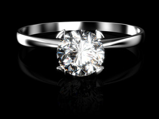 Brilliant Diamond Ring