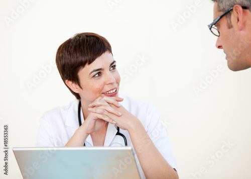 Female Doctor in a hospital