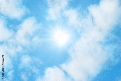 Clouds and sky - 18553393