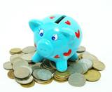 Piggy bank poster