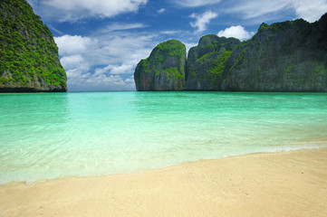 """Beautiful lagoon, exact place where """"The Beach"""" movie was filmed"""