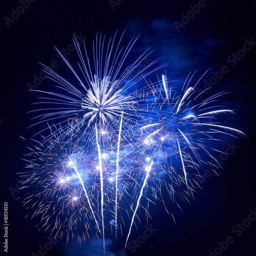 In de dag Nacht Fireworks