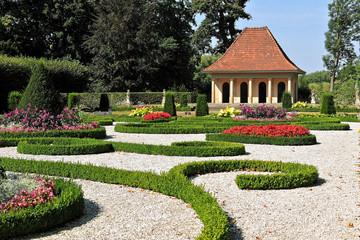 Der Schloßpark am Schloss Wolfsburg