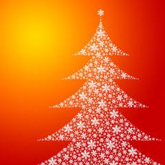 orange christmastree