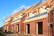 Dachstuhl Dachlatten Giebel Einfamilienhaus