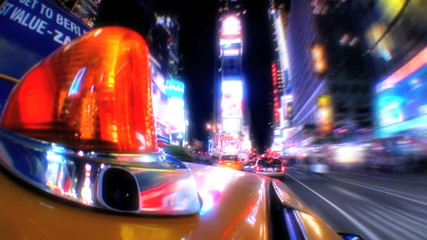 Yellow Taxi Cabs T/Lapse