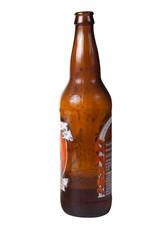 Brown bottle of beer