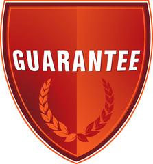 Schild Garantie