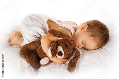 Fototapete Schlafen - Schlaf - schlafende Person - Poster - Aufkleber