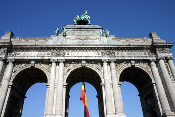 Triumphbogen in Brüssel
