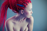 red dreadlocks