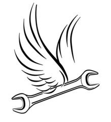 fliegender schraubenschlüssel