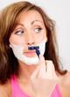 shave woman epilation