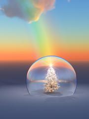 Christmas Tree Rainbow