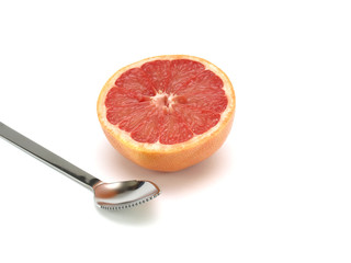 Healthy food, nutrition and fruits – grapefruit