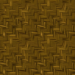 Teak Wood Parquet Seamless Pattern