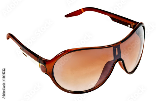 Beautiful women's glasses on a white background. Isolate
