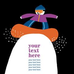 snowboard texto