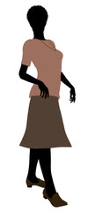 Grandmother Illustration Silhouette