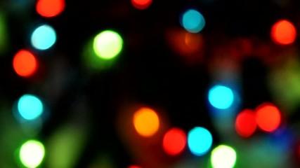 Lumières floues multicolores - Vidéo HD