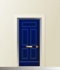 Porta Blu - Blue door