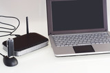 Netbook con modem router wifi 3G poster