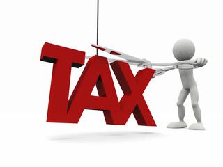 Concetto: Tagliare le tasse