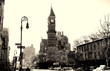 clock tower in greenwich village