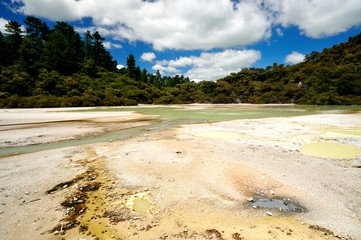 Frying Pan Flat, Wai-O-Tapu Thermal Wonderland, NZ