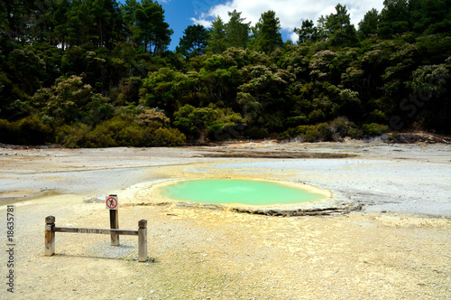 Oyster Pool, Frying Pan Flat, Wai-O-Tapu, NZ
