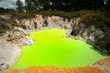 Fantastic colours of Devil's Bath, Wai-O-Tapu Thermal Wonderland