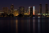 Night view of san Diego