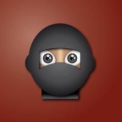Cabeza de ninja