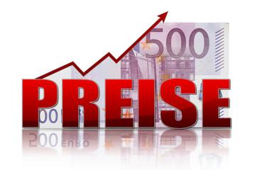 steigende Preise