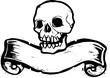 Banner Skull #1