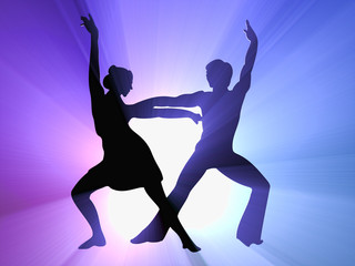 backlight_with_ dancing_pair