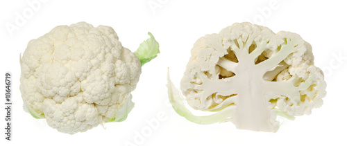 Cauliflower heads
