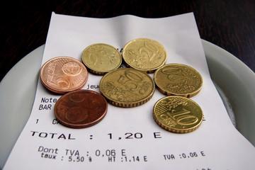 rendre la monnaie
